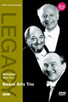 シューベルト:ピアノ三重奏曲 第1番 変ロ長調 D898/ピアノ三重奏曲 第2番 変ホ長調 D929 [DVD]