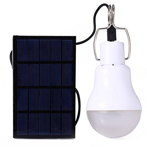 RUNACC ソーラー電球 LED電球 ランプポータブル ソ...