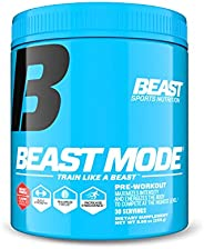 Beast Sports Nutrition (Beast Mode, Ultimate Workout Supplement), 30 Servings, Beast Punch, 240 Grams