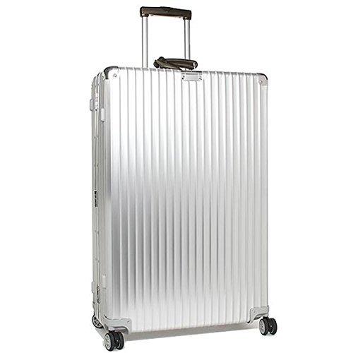 [リモワ] スーツケース レディース RIMOWA 971.77.00.4 クラシックフライト 84.5CM 104L 10泊用 4輪 キャリーケース SILVER [並行輸入品]