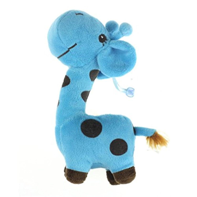 教育おもちゃ、baomabaoソフトぬいぐるみおもちゃ動物人形ベビーキッド誕生日パーティーギフトブルー