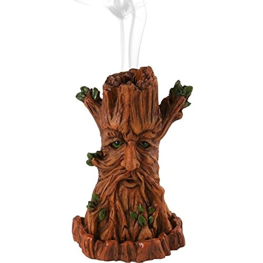 労働権利を与える入場料Jones Home and Gift Tree Man Incense Burner, Multi-Colour by Jones Home and Gift