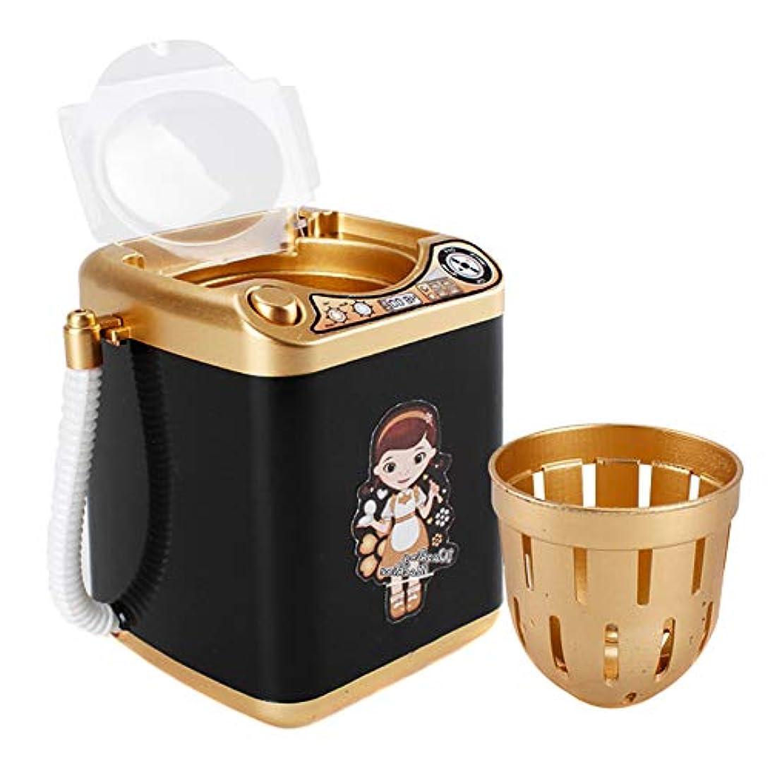暖炉ひいきにする政権Aylincool  ミニ多機能子供洗濯機のおもちゃ美容スポンジブラシワッシャー