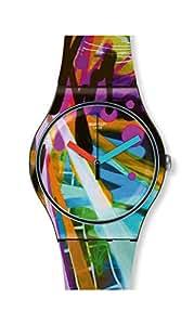 [スウォッチ] 腕時計 CITY WALLS シティ・ウォールズ New Gent ニュージェント LISTEN TO ME SUOB163 正規輸入品