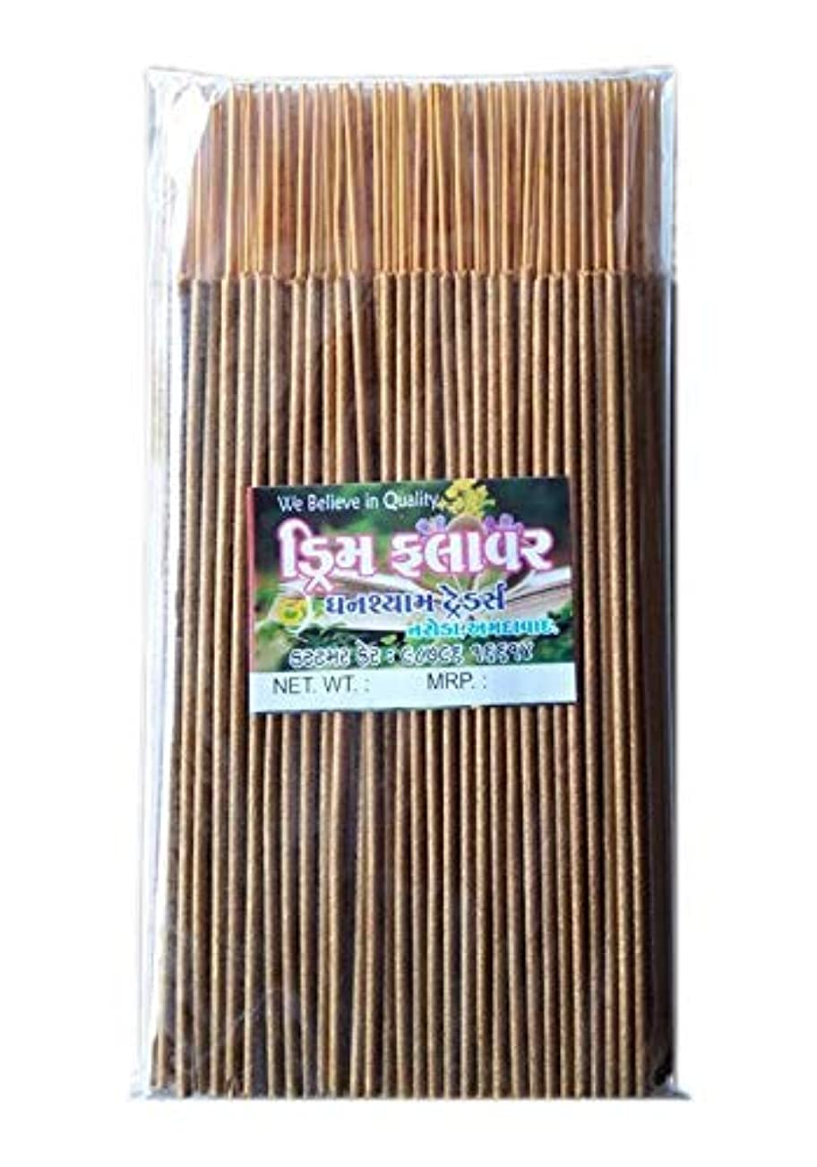 支援入浴スキャンダラスDivyam Dream Flower Incense Stick/Agarbatti -Yellow (500 GM. Pack)