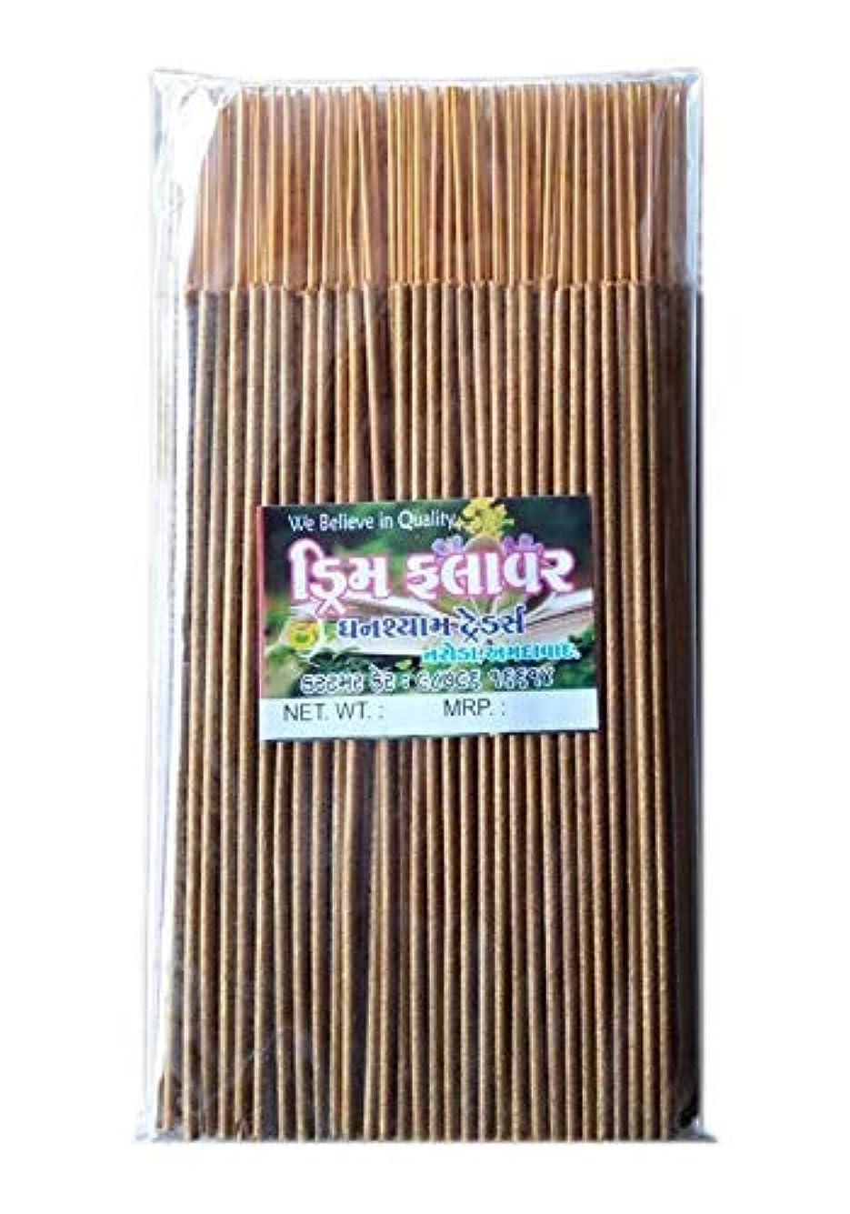 矩形論争適性Divyam Dream Flower Incense Stick/Agarbatti -Yellow (500 GM. Pack)