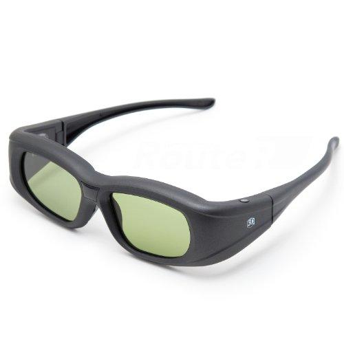 ルートアール Bluetooth互換 アクティブシャッター方式 3Dメガネ 充電式 RV-3DGBT1