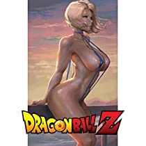 Dragonball Z: Sketchbook Plus: Sexy DBZ Girls: 100 Large High Quality Notebook Journal Sketch Pages (DBS Anime Girls 16) (Sexy Anime Figures)