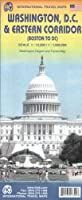 Washington DC & Eastern Corridor Travel Reference Map: 1:12,500/1:1,000,000 (International Travel Maps)