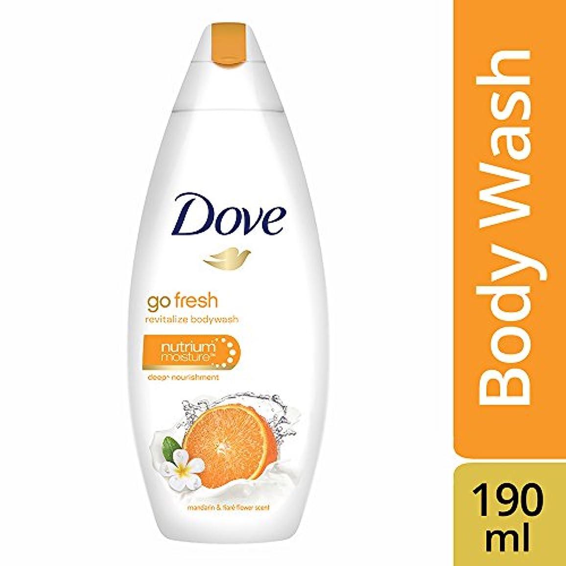 サバント天文学対処Dove Go Fresh Revitalize Body Wash, 190ml