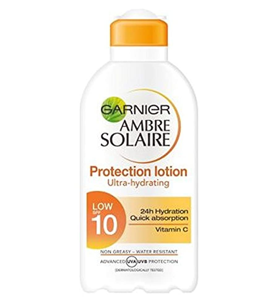 失業安いです連邦Garnier Ambre Solaire Protection Lotion SPF10 200ml - ガルニエアンブレSolaire保護ローションSpf10の200ミリリットル (Garnier) [並行輸入品]