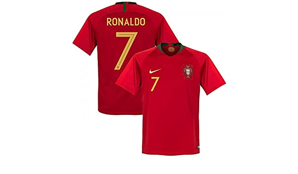 Nike Portugal FIFA WC World Cup 2018 C. Ronaldo   7 Away Soccer Jersey b521a64e4