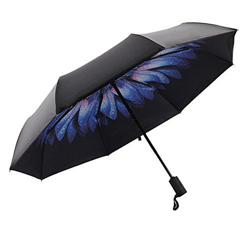 [해외]Snone 자동 개폐 접는 우산 패션 우산 꽃 무늬 레인 굿즈 파라솔 파라솔 UV 컷 청우 겸용 경량 8 친뼈 3 개의 접이식 고품질 인기/Snone Automatic opening and closing Folding umbrella Fashionable umbrella Floral pattern Rain goods Parasol S...