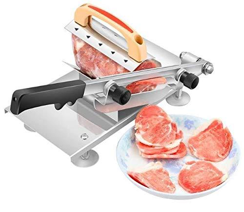 ミートスライサー ステンレス 厚さ調節可能 0.3〜15mm 手動 肉 スライサー