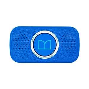 【国内正規品】Monster SUPERSTAR ワイヤレスポータブルスピーカー Bluetooth対応 防滴仕様 ネオンブルー MH SPSTR N-BL