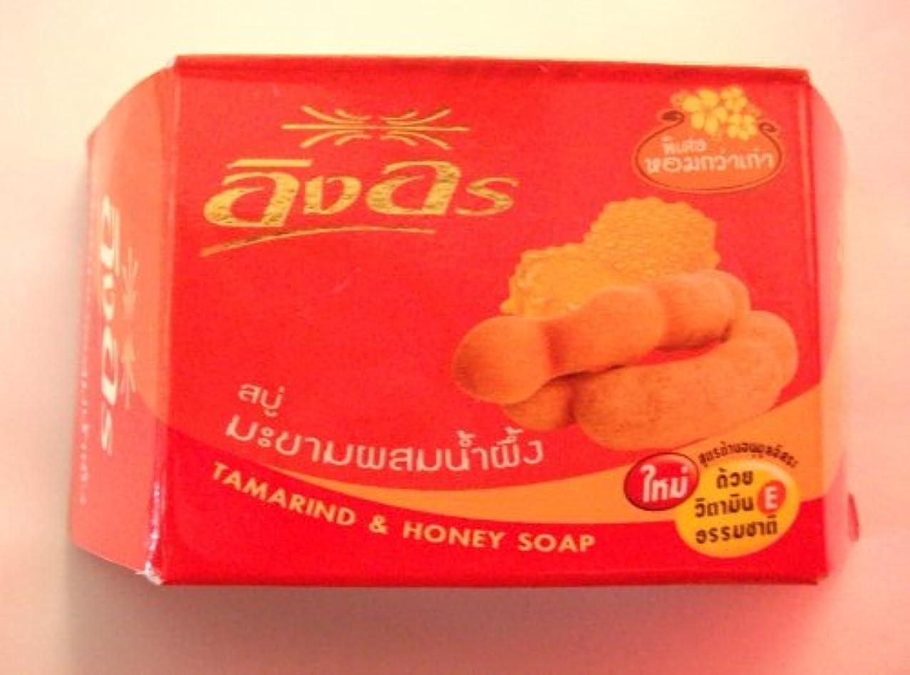 汚すリテラシーピーブイングオン イングオンソープ タマリンド&蜂蜜 85g