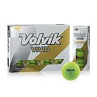 Volvik(ボルビック) ゴルフボール Volvik VIVID 1ダース グリーン