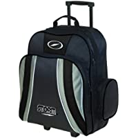 嵐Rascal 1ボールローラーBowling bag-ブラック/シルバー