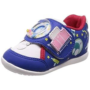[ムーンスター] ベビーシューズ 靴 ドラえもん マジック 抗菌防臭 ゆったり DRM B02 DRM B02 ブルー 15.5 cm 2E
