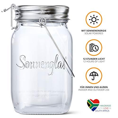 (ソネングラス) SONNENGLAS 瓶型LEDライト ソーラーライト 太陽光エネルギー