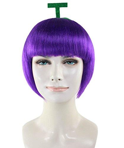 Wigs2you 果物 葡萄 仮装ウィッグ H-2510 フルウィッグ コスプレ 最高級 ナチュラル かつら カラーウィッグ 双子コーデ 男装 女装