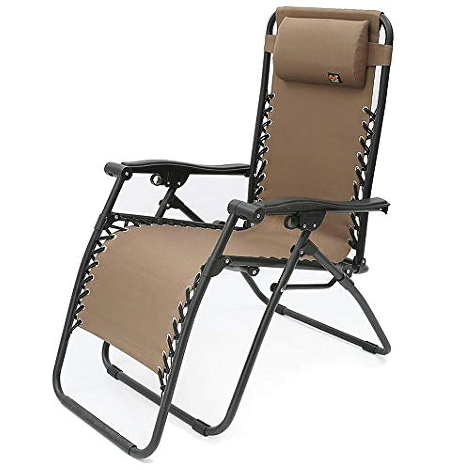 二層活気づける迅速ロッキングチェアゼロ重力ラウンジチェア枕と調節可能な折りたたみリクライニングチェア屋外パティオチェアブラック/ブラウン/レッド(カラー:レッド),B