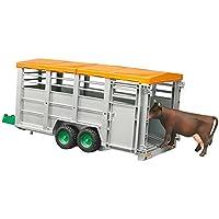 ブルーダー 畜産業務用トレーラー (フィギュア付き) BR02227