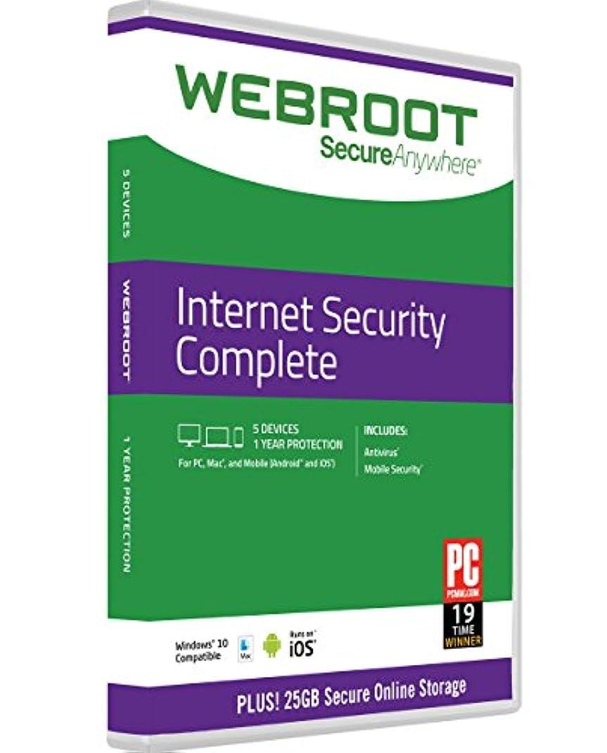 発見する積分横Webroot Internet Security Complete 2016 | 5 Devices | 1 Year | PC [Download]
