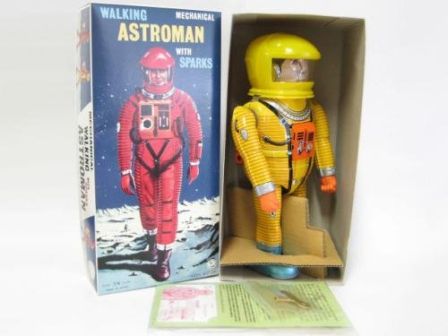 アストロマン イエロー 50個限定品 大阪ブリキ 絶版品 ブリキ玩具 2001年宇宙の旅