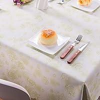YIRE すべてのサイズジャガードプリントローズテーブルクロスのパターンのテーブルクロスの長方形のラウンドバンケットウェディングパーティホテルの装飾 (色 : Green, サイズ さいず : 140*200)