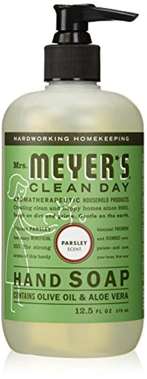 セント飾る道を作るMrs. Meyers Clean Day, Liquid Hand Soap, Parsley Scent, 12.5 fl oz (370 ml)