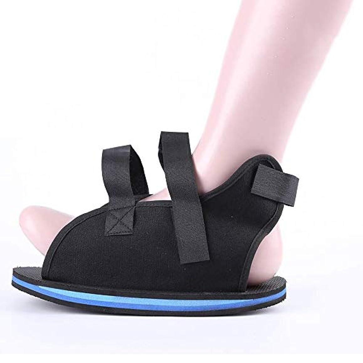 手術十一サポート壊れたつま先/足の骨折のための術後靴 - カスタムフィットのための調節可能なストラップ付きの軽量医療ウォーキングブーツシューズ (Size : S)