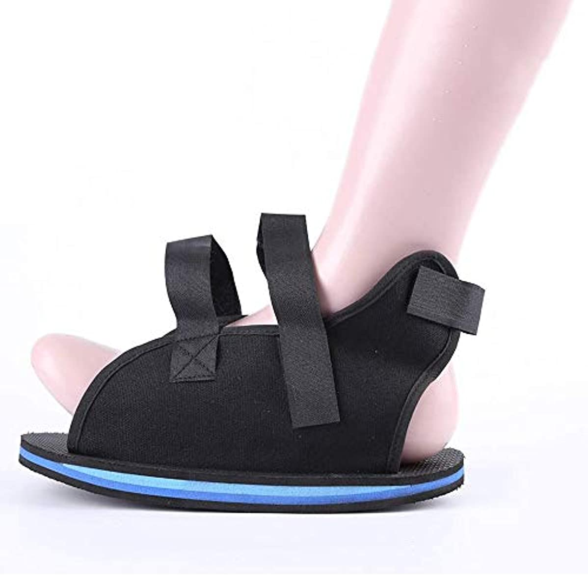 に対処する石の過敏な壊れたつま先/足の骨折のための術後靴 - カスタムフィットのための調節可能なストラップ付きの軽量医療ウォーキングブーツシューズ (Size : S)