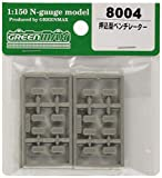 グリーンマックス Nゲージ 押込型ベンチレーター 8004 鉄道模型用品