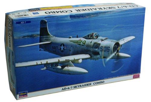 1/72 飛行機シリーズ AD-6/7 スカイレイダー コンボ