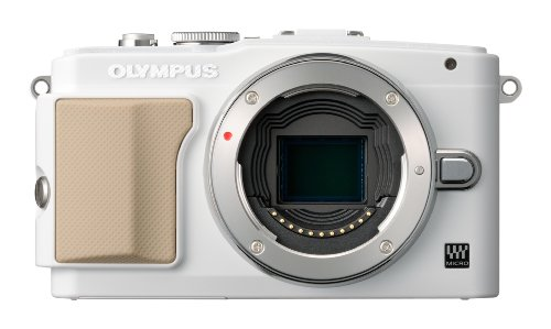 OLYMPUS ミラーレス一眼 PEN Lite E-PL5 レンズキット ホワイト E-PL5 LKIT WHT