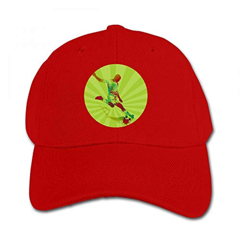 サッカー 輪郭 おもしろい キャップ 多彩 ハット ファッション 鳥打ち帽 子供 通学 アウトドア 帽子