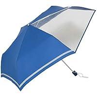 傘と日傘専門店リーベン 折りたたみ傘 ネイビー 55cm×6本骨 前が見えるミニ傘 子ども用 LIEBEN-1330