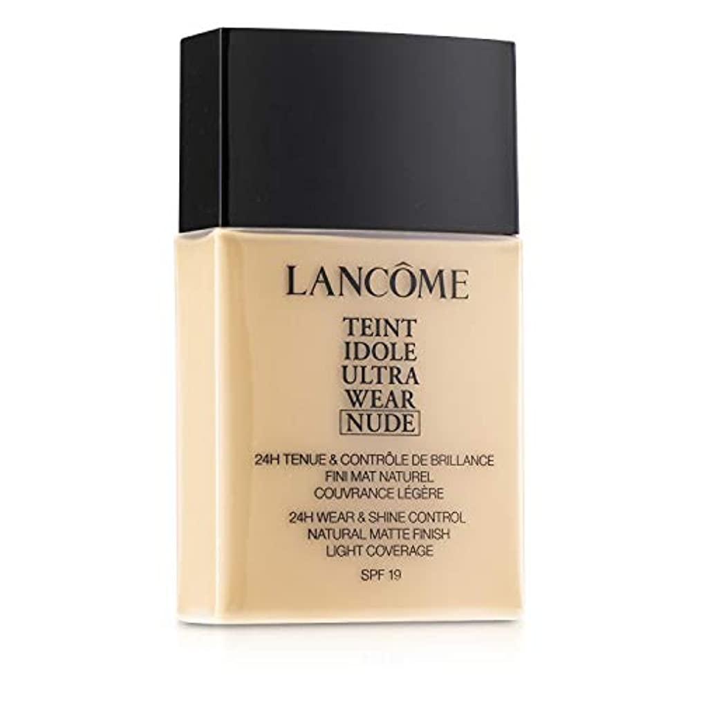 十二後悔持っているランコム Teint Idole Ultra Wear Nude Foundation SPF19 - # 01 Beige Albatre 40ml/1.3oz並行輸入品