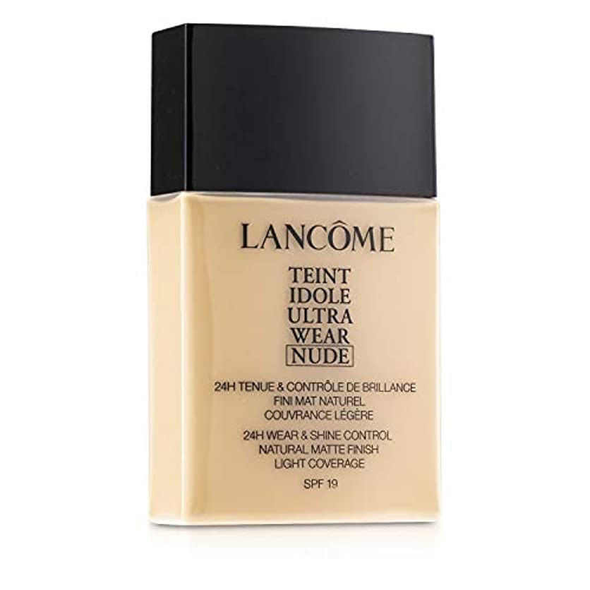 振動させる頂点理容室ランコム Teint Idole Ultra Wear Nude Foundation SPF19 - # 01 Beige Albatre 40ml/1.3oz並行輸入品