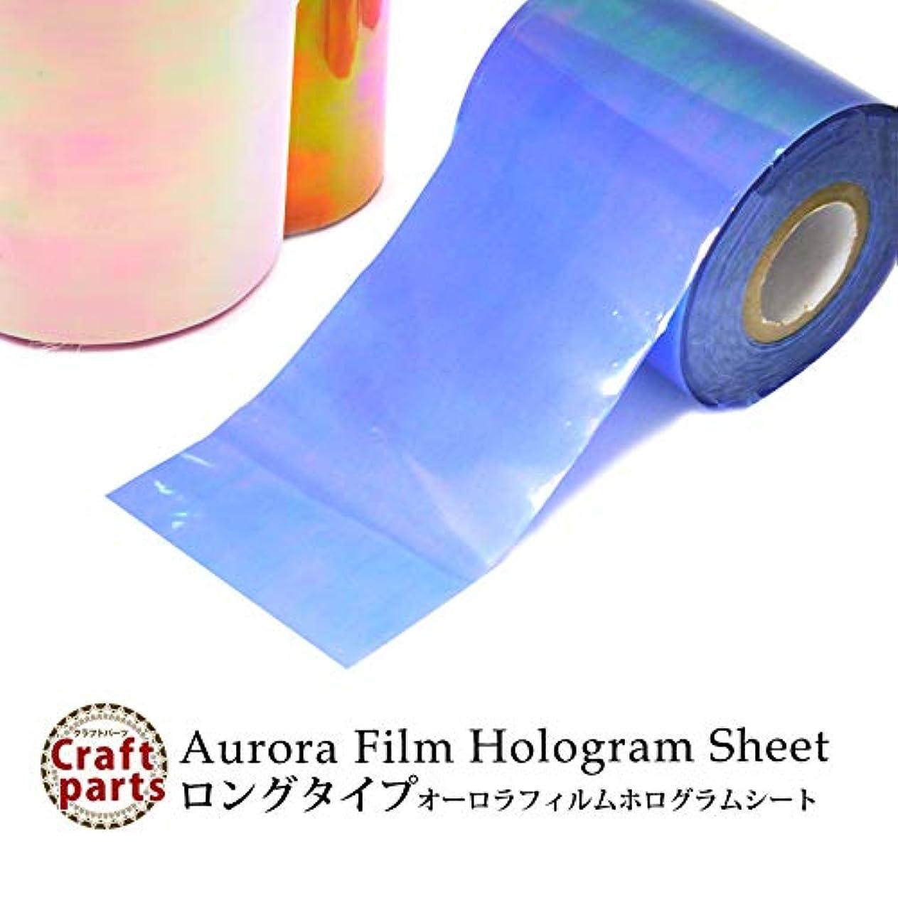 命令的きらめくコマンドロングタイプ オーロラフィルム ホログラムシート 18種 1枚入り (1.Lピンク系)