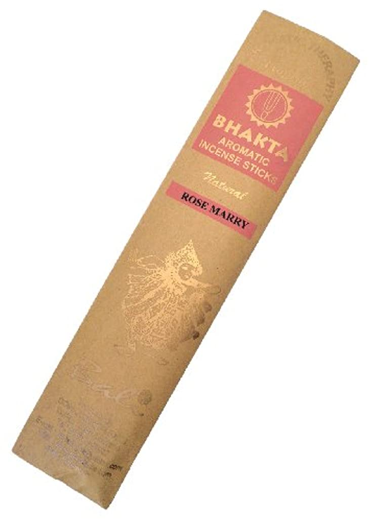 移行する悪夢太いお香 BHAKTA ナチュラル スティック 香(ローズマリー)ロングタイプ インセンス[アロマセラピー 癒し リラックス 雰囲気作り]インドネシア?バリ島のお香