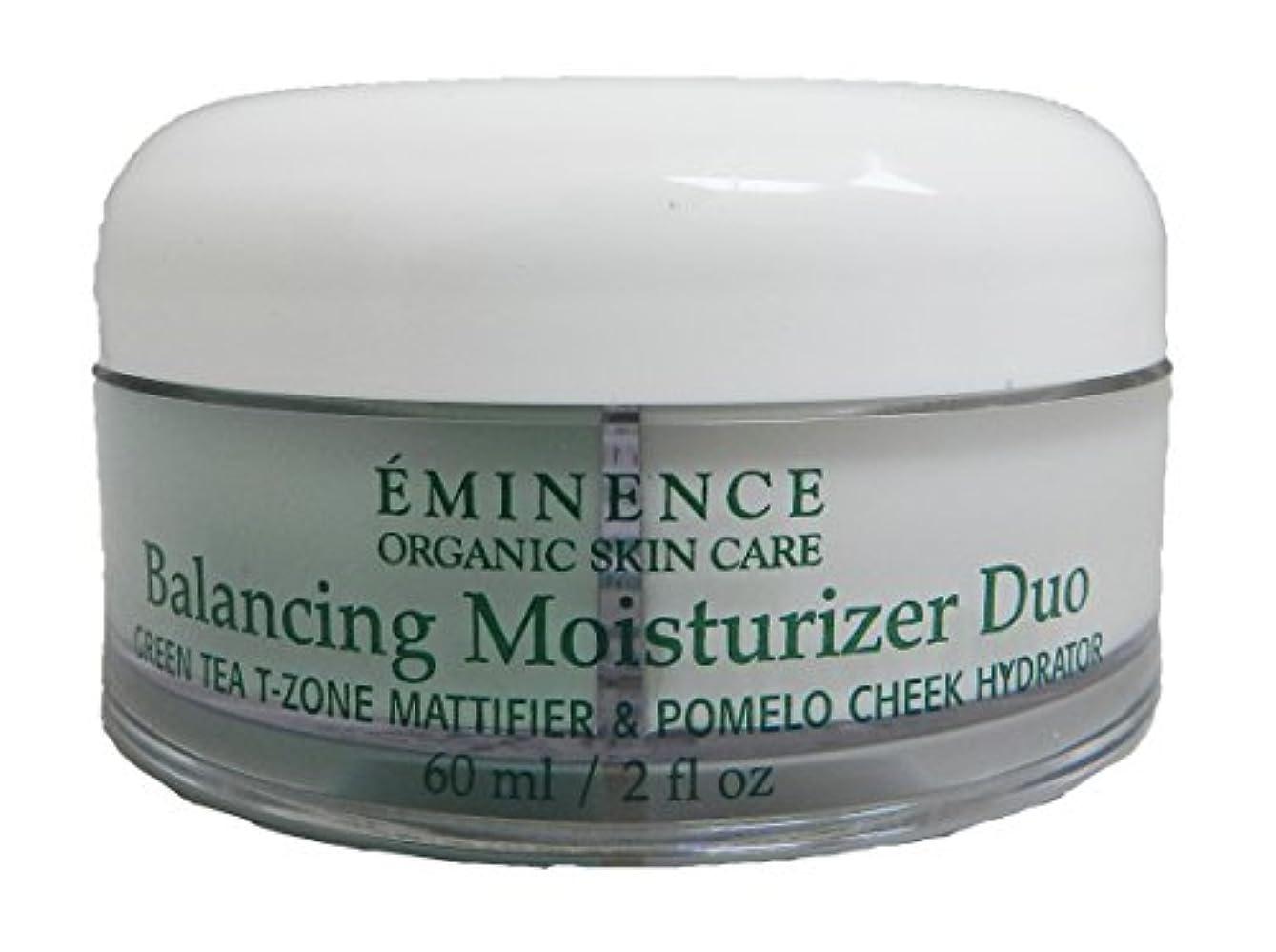 羊飼い入り口高速道路エミネンス Balancing Moisturizer Duo: Green Tea T-Zone Mattifier & Pomelo Cheek Hydrator - For Combination Skin Types...