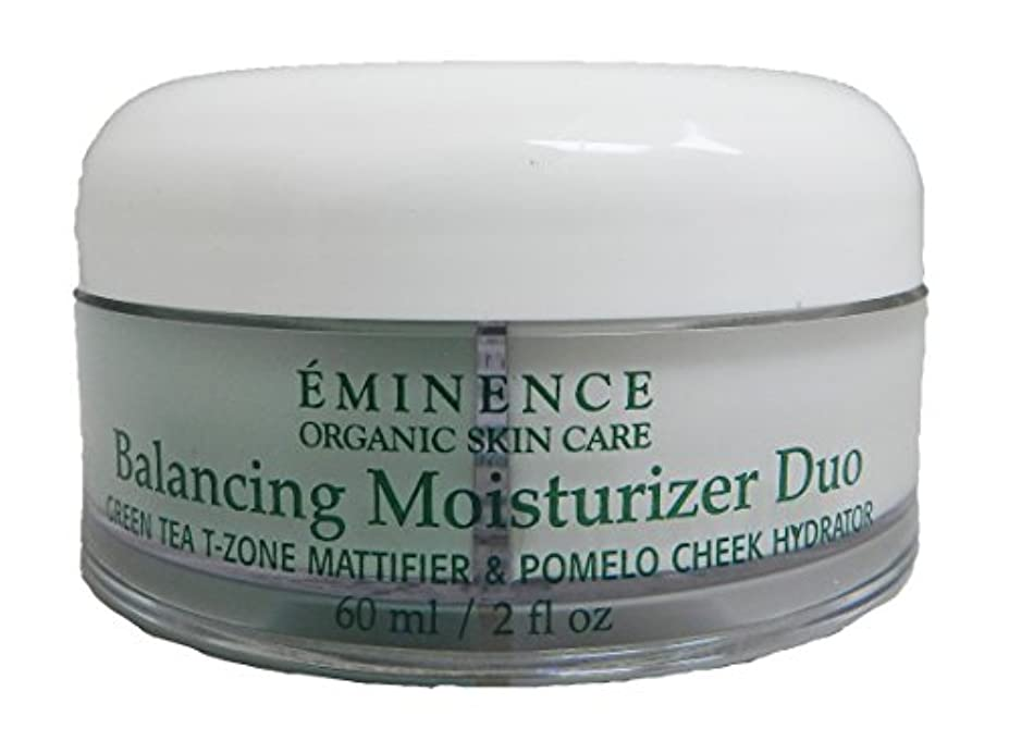 取り扱いチップ一貫したエミネンス Balancing Moisturizer Duo: Green Tea T-Zone Mattifier & Pomelo Cheek Hydrator - For Combination Skin Types...