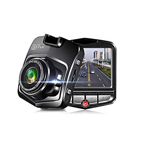 TmDeken ドライブレコーダー スタンダード 170度広角レンズ 1080P フルHD 1200万画素 2.4インチ Gセンサー搭載 移動体検視 駐車監視 常時録画 ブラック