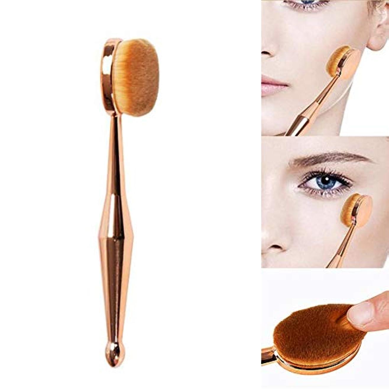 ロイヤリティ繕うサイズ化粧ブラシ 化粧筆 歯ブラシ型メイクブラシ ファンデーションブラシ フェイスブラシ 化粧ブラシ (1枚セット)