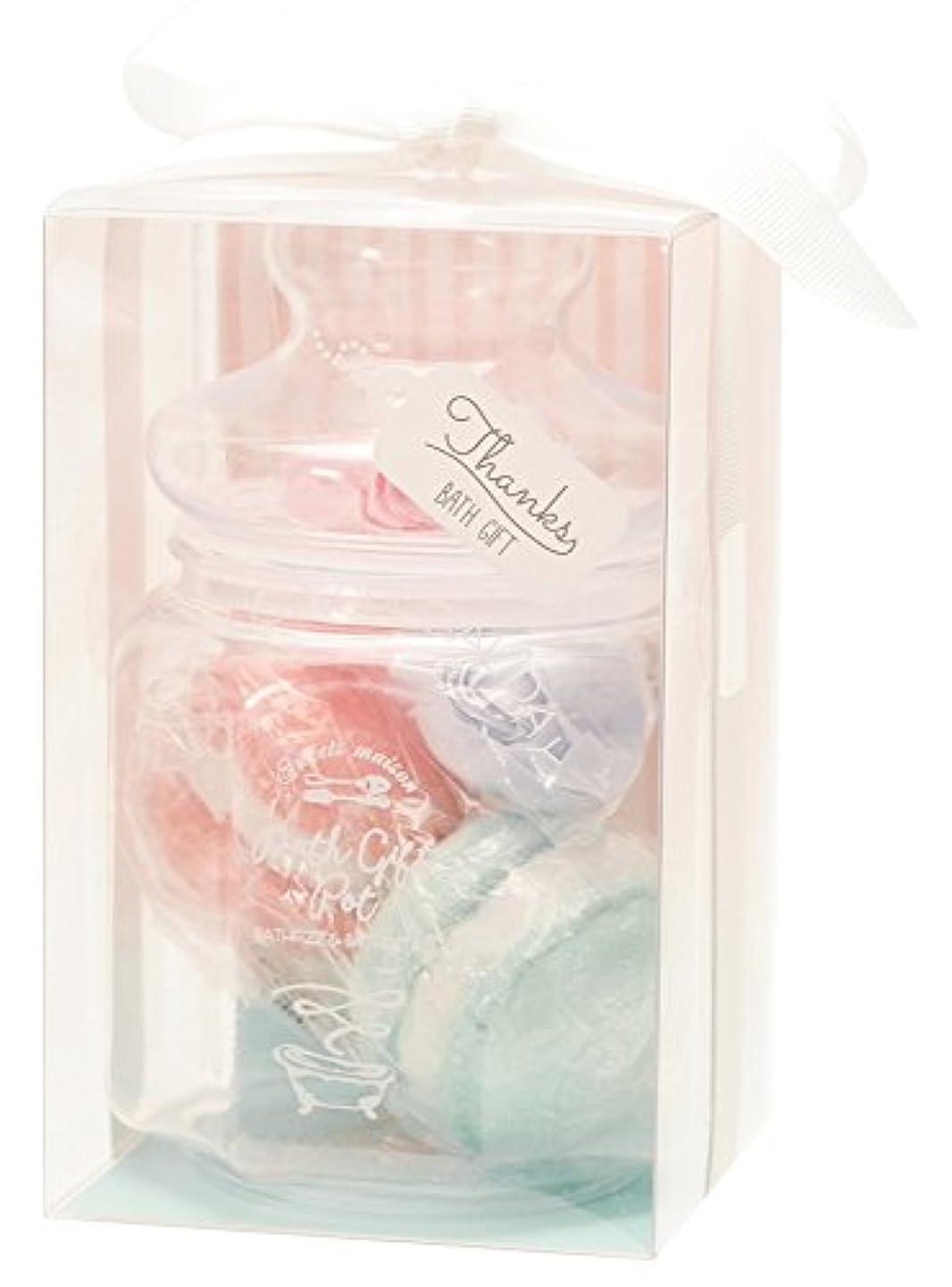 抜本的な柔らかさフリルノルコーポレーション 入浴剤 ギフトセット バスギフトポット フローラルフルーツ OB-SMG-6-1