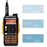 Baofeng GT-3TP Mark-III 8W/4W/1W UHF VHF Dual Band Two Way Radio Handheld Transceiver