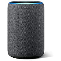Newモデル Echo (エコー) 第3世代 - スマートスピーカー with Alexa、チャコール
