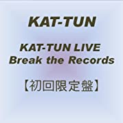 KAT-TUN LIVE Break the Records 【初回限定盤】 [DVD]